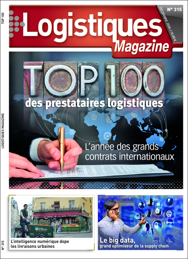 Illustration Logistique Magazine