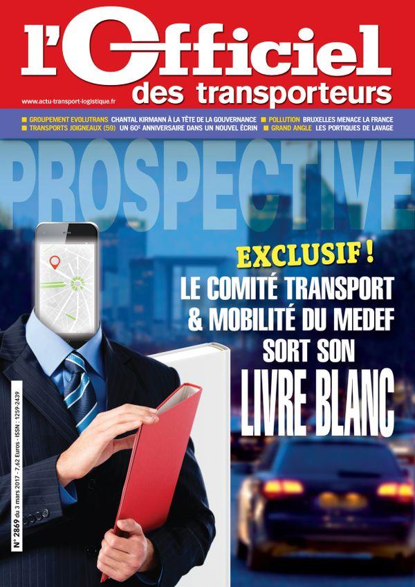 Couverture magazine n° 2869