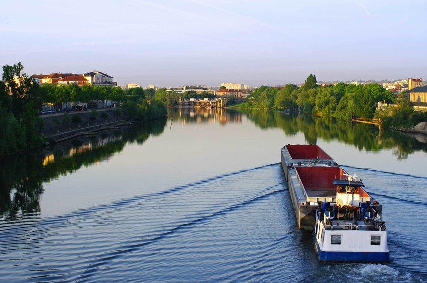 Le fret fluvial veut raccrocher les wagons de la cha ne - 6 route du bassin n 1 port de gennevilliers ...