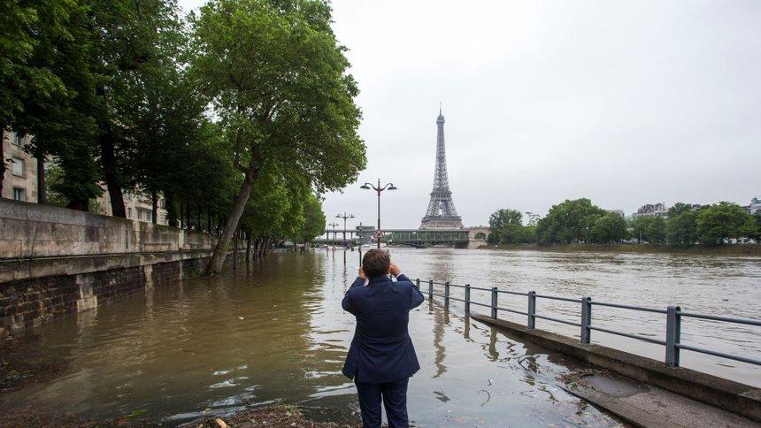 Paris - Voie sur la rive Droite