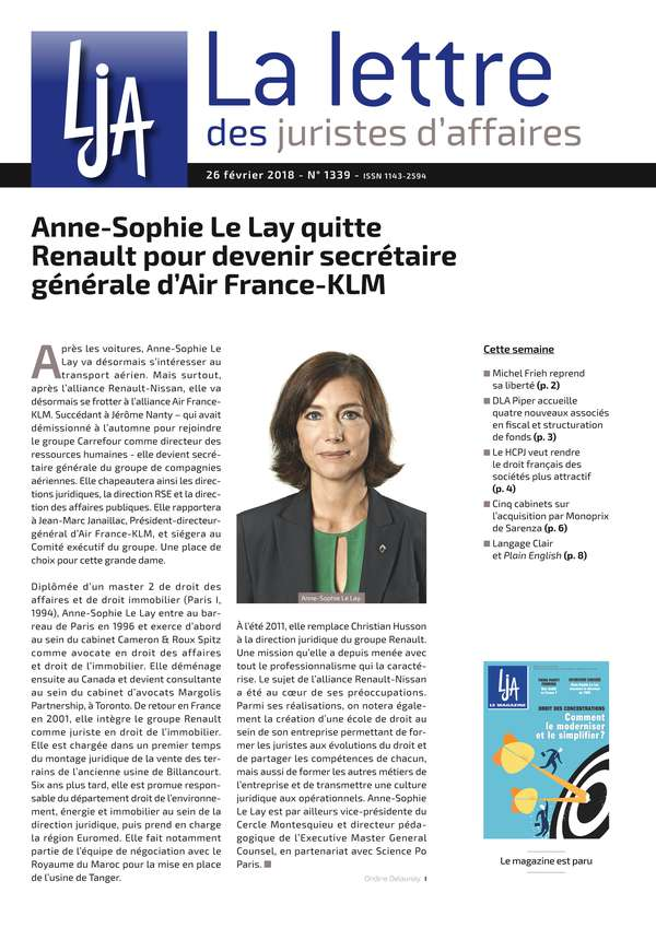 Sommaire n°1339