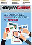 Couverture magazine Entreprise et carrières n° 1276