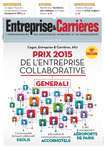 Couverture magazine Entreprise et carrières n° 1263