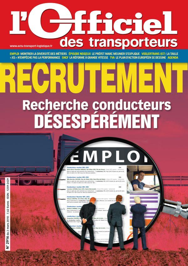 Couverture magazine n° 2916