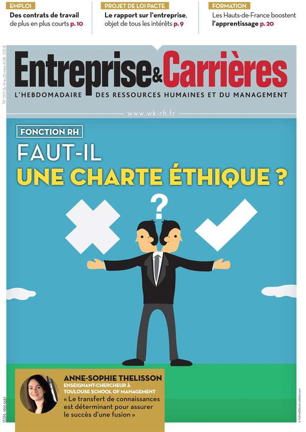 Couverture magazine Entreprise et carrières n° 1377