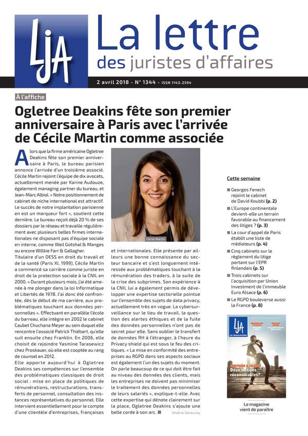 Sommaire n°1344