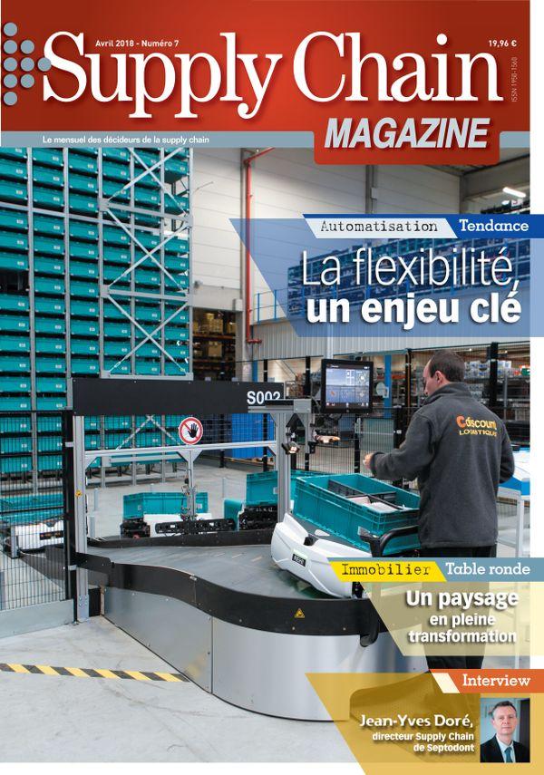 Couverture magazine supply chain magazine n° 7