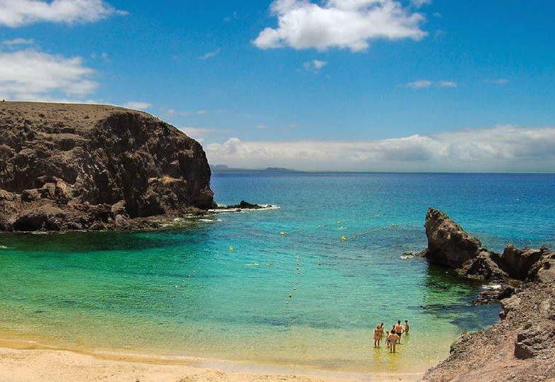 Lanzarote beach nudist