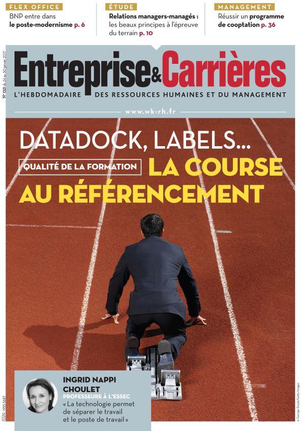Couverture magazine Entreprise et carrières n° 1321
