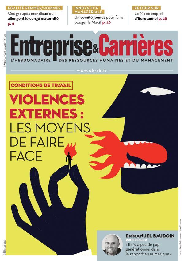 Couverture magazine Entreprise et carrières n° 1327