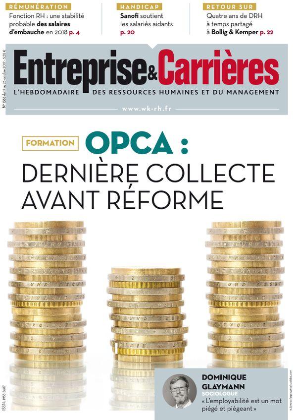 Couverture magazine Entreprise et carrières n° 1355