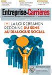 Couverture magazine Entreprise et carrières n° 1312