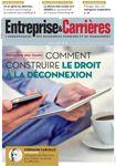 Couverture magazine Entreprise et carrières n° 1310