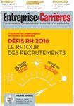 Couverture magazine Entreprise et carrières n° 1293
