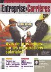 Couverture magazine Entreprise et carrières n° 990