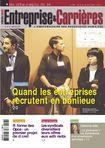 Couverture magazine Entreprise et carrières n° 998
