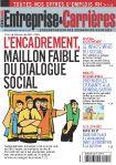 Couverture magazine Entreprise et carrières n° 859