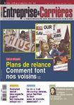 Couverture magazine Entreprise et carrières n° 943