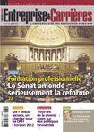 Couverture magazine Entreprise et carrières n° 970