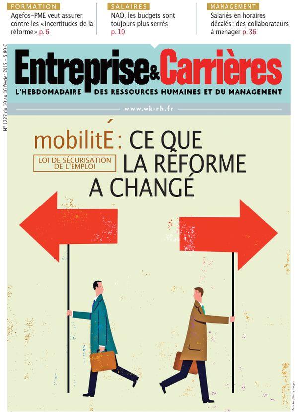 Couverture magazine Entreprise et carrières n° 1227
