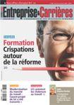 Couverture magazine Entreprise et carrières n° 896