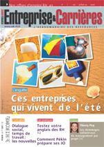 Couverture magazine Entreprise et carrières n° 915