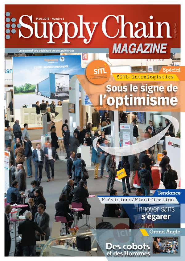 Couverture magazine supply chain magazine n° 6