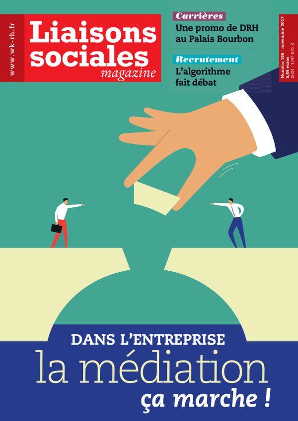 Couverture magazine Liaisons sociales magazine n° 186