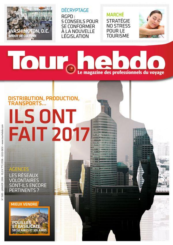 Tour Hebdo n° 1589 du 01 janvier 2018