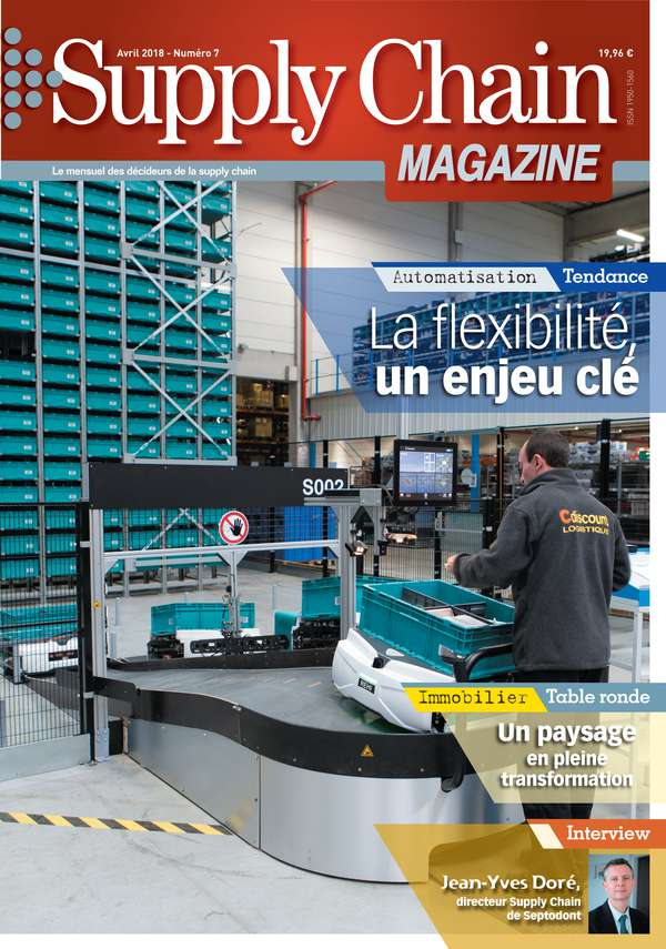 Couverture magazine supply chain magazine n° 7