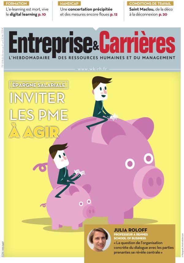 Couverture magazine Entreprise et carrières n° 1378