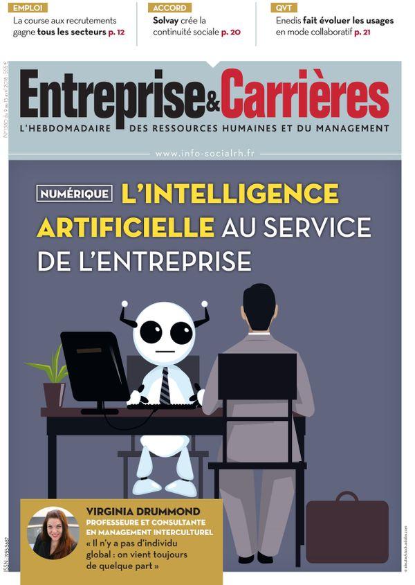 Couverture magazine Entreprise et carrières n° 1380