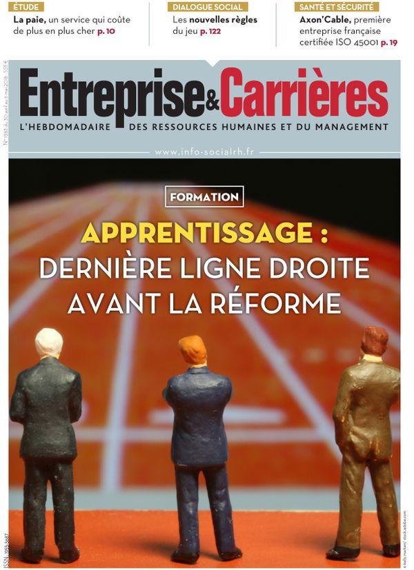 Couverture magazine Entreprise et carrières n° 1383