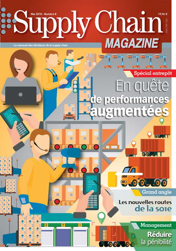 Couverture magazine supply chain magazine n° 8
