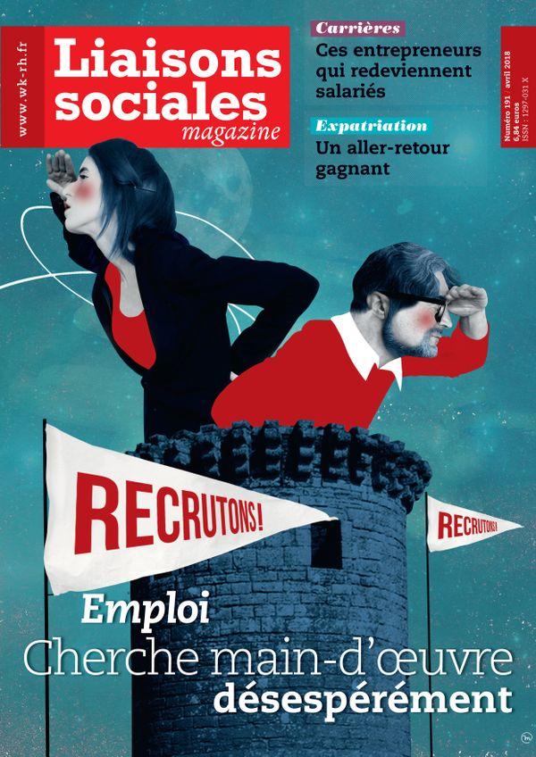 Couverture magazine Liaisons sociales magazine n° 191