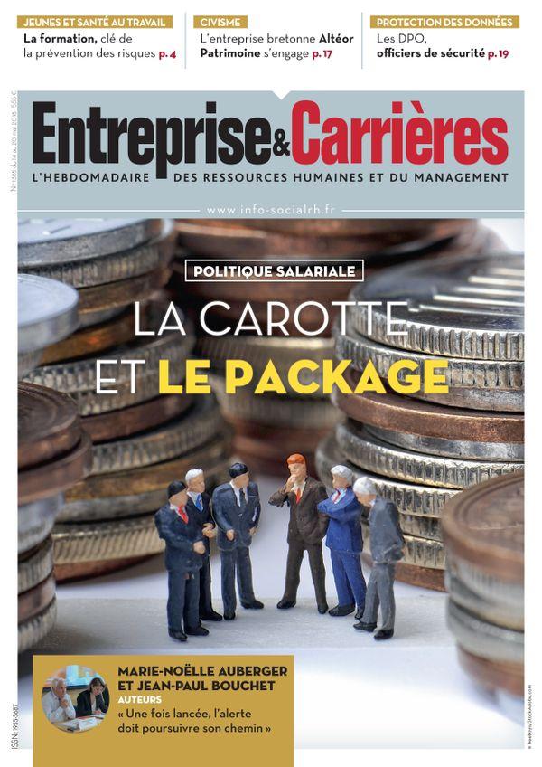 Couverture magazine Entreprise et carrières n° 1385