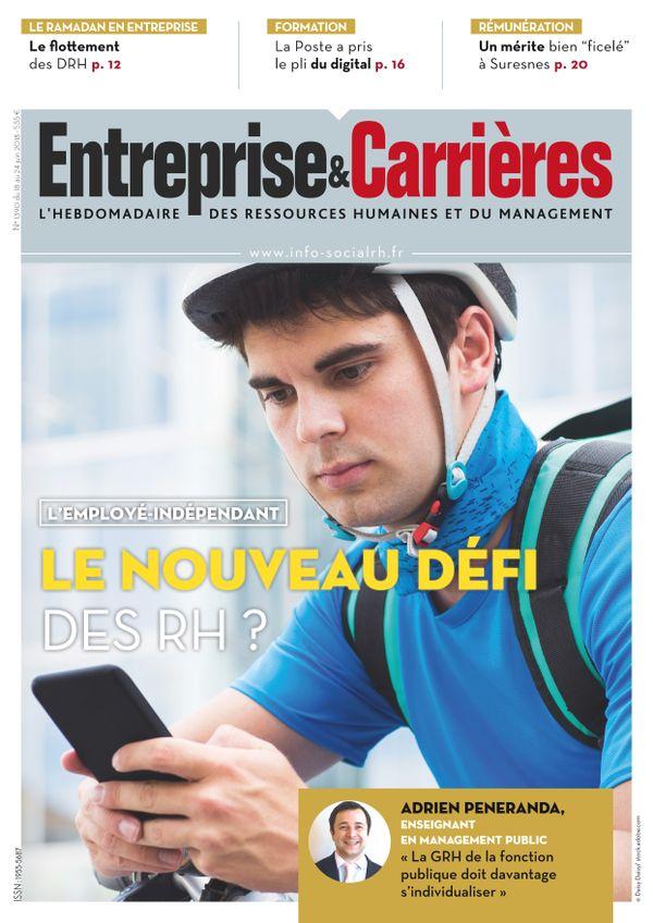 Couverture magazine Entreprise et carrières n° 1390