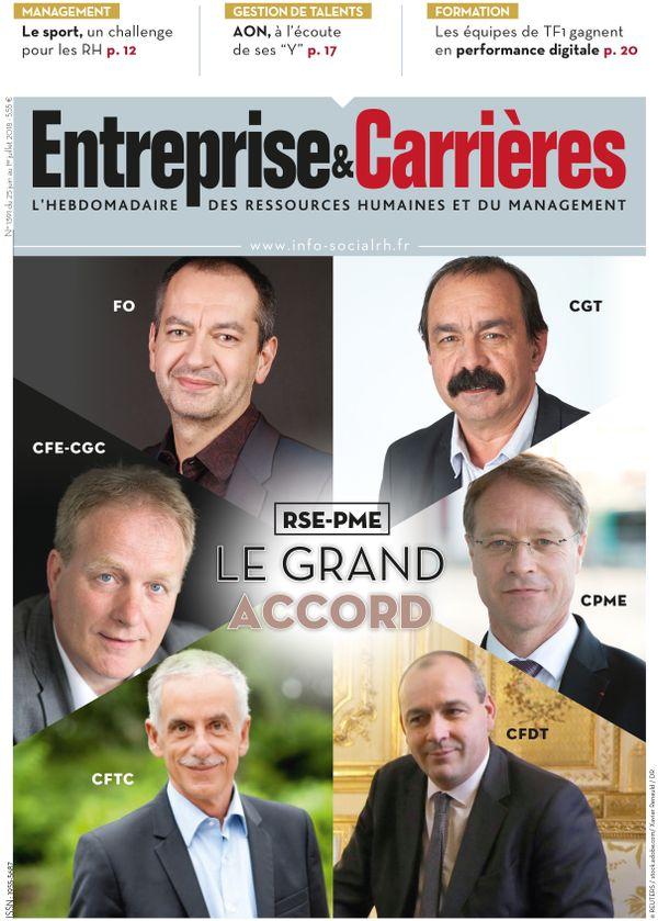 Couverture magazine Entreprise et carrières n° 1391
