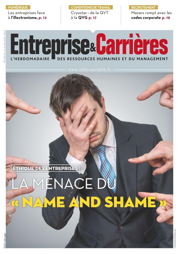 Couverture magazine Entreprise et carrières n° 1392