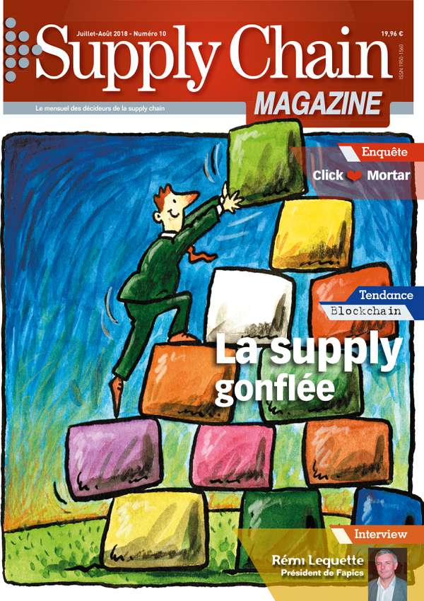 Couverture magazine supply chain magazine n° 10