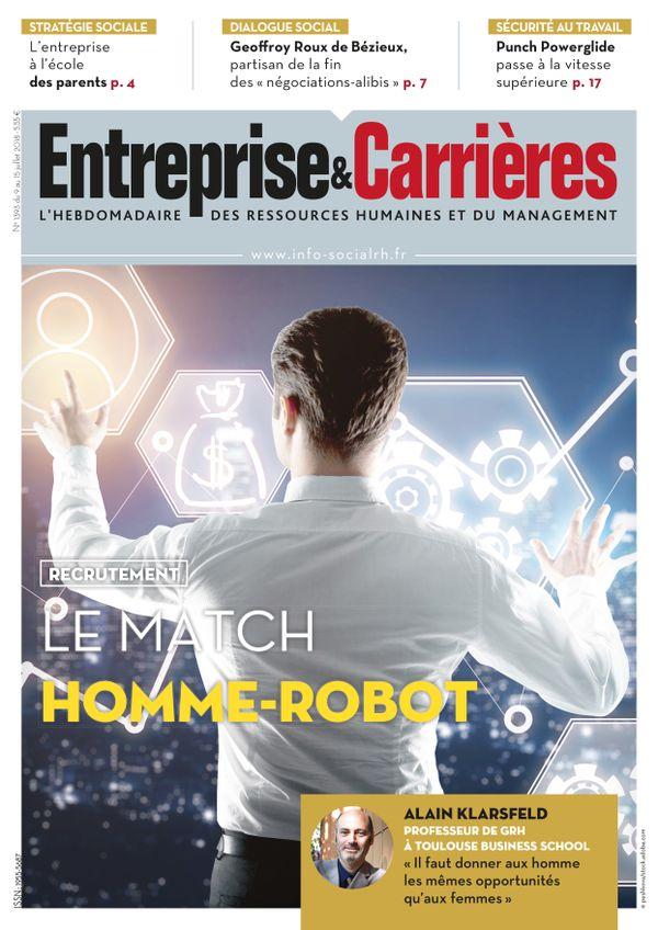 Couverture magazine Entreprise et carrières n° 1393