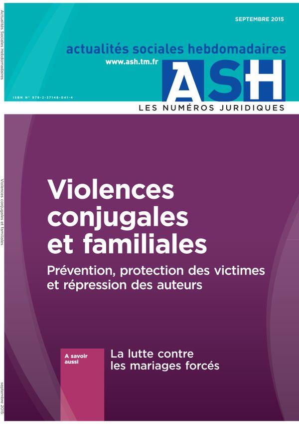 Violences conjugales et familiales - Prévention, protection des victimes et répression des auteurs