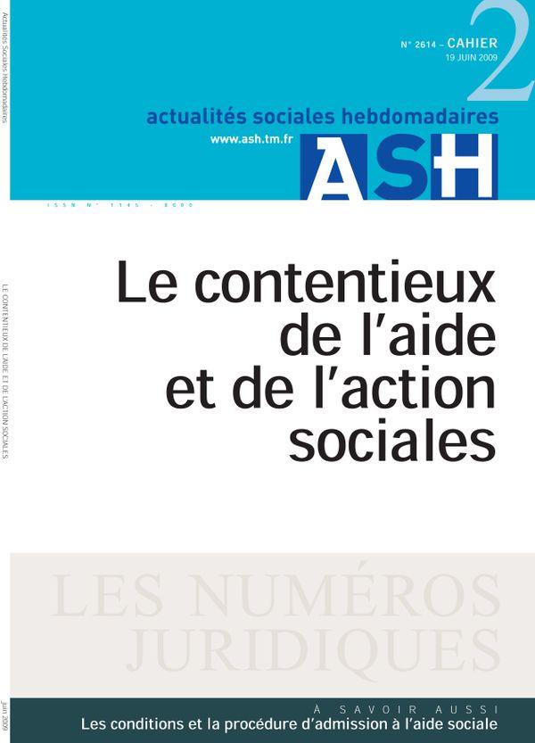 Le contentieux de l'aide et de l'action sociales
