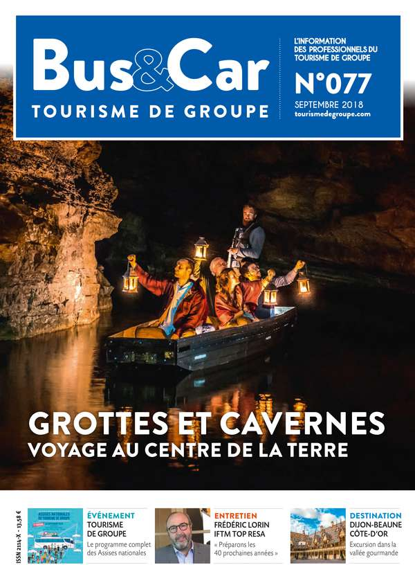 Bus et Car : Tourisme de Groupe n° 77 de septembre 2018