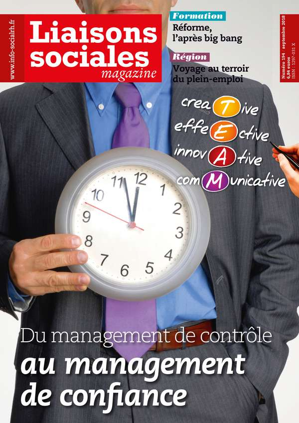 Couverture magazine Liaisons sociales magazine n° 194