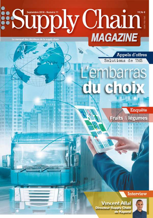 Couverture magazine supply chain magazine n° 11