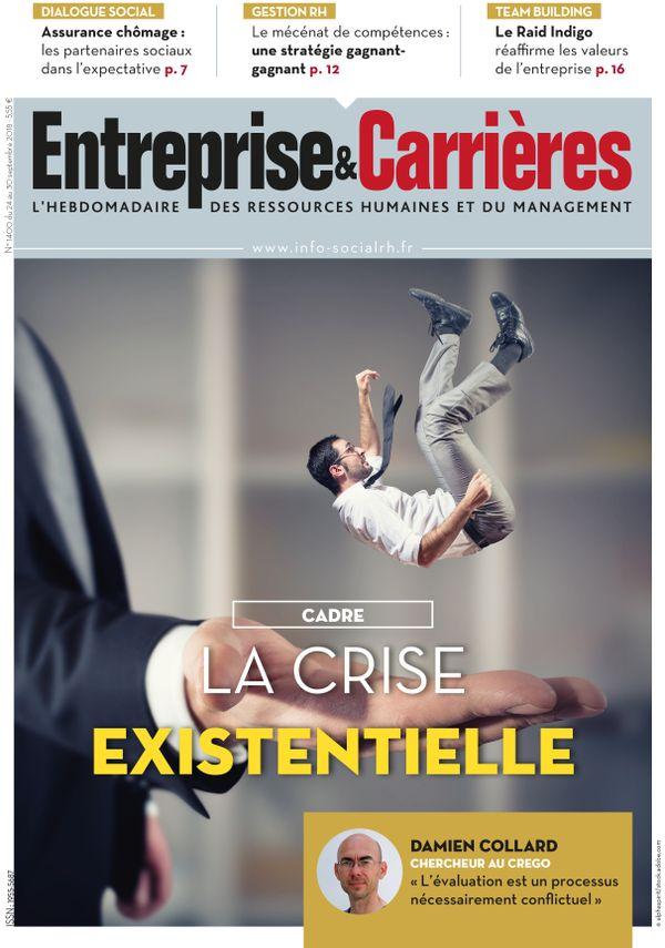 Couverture magazine Entreprise et carrières n° 1400