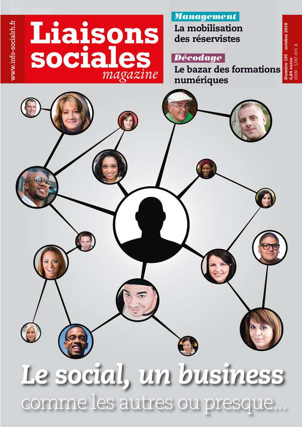 Couverture magazine Liaisons sociales magazine n° 195