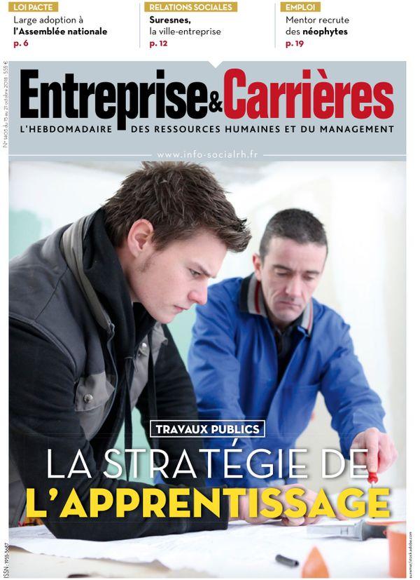 Couverture magazine Entreprise et carrières n° 1403