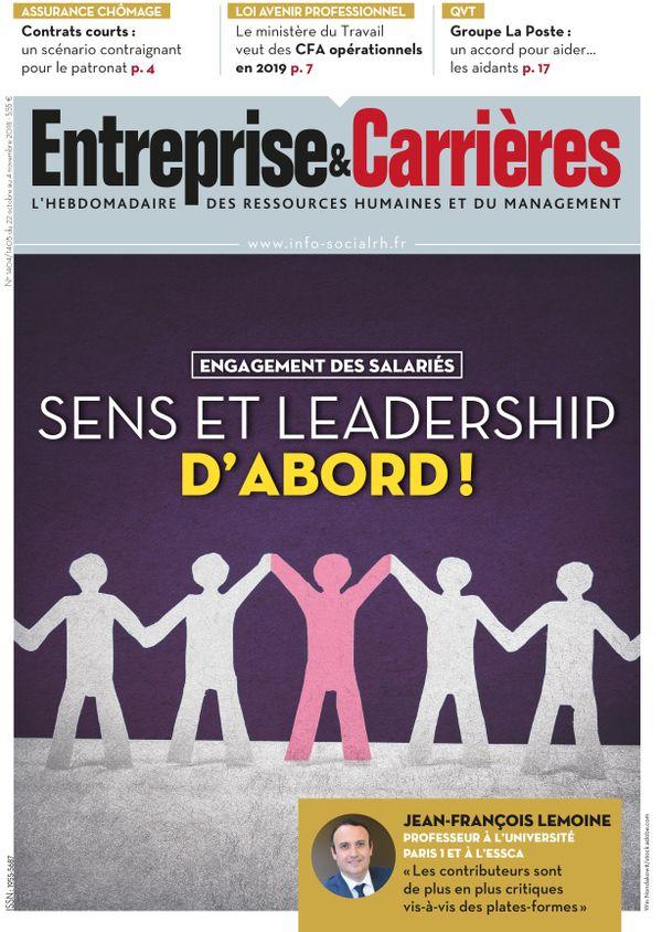 Couverture magazine Entreprise et carrières n° 1404